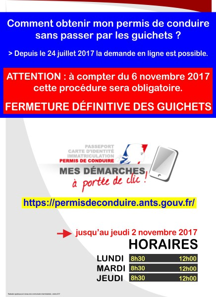 carte grise et permis de conduire port e de clic communaut de communes quercy rouergue et. Black Bedroom Furniture Sets. Home Design Ideas