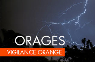 Vigilance orange orages - en Tarn-et-Garonne